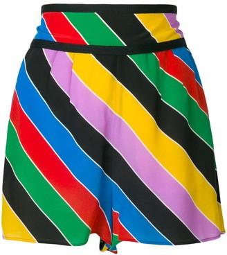 Philosophy di Lorenzo Serafini striped shorts