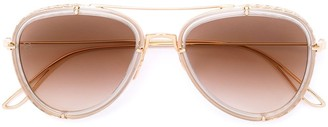 Elie Saab Aviator Sunglasses