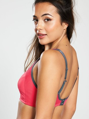 Pour Moi? Pour Moi Engergy Non Wired Full Cup Sports Bra - Coral