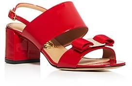 Salvatore Ferragamo Women's Giulia Block Heel Sandals