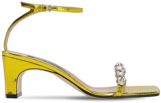 Sergio Rossi 60mm Lvr Exclusive Leather Sandals