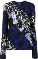 Proenza Schouler multi-print sweater