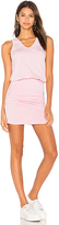 Sundry U Neck Dress in Pink. - size 0 / XS (also in 3 / L)