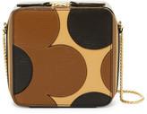 Orla Kiely Min Leather Poppy Bag