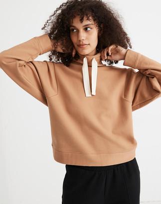 Madewell MWL Ribbed Funnelneck Sweatshirt