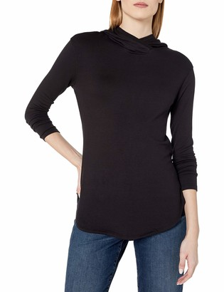 Daily Ritual Women's Supersoft Terry Long-sleeve Hooded Pullover Shirt