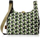 Orla Kiely Womens Midi Sling Messenger Bag Grass