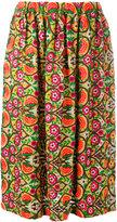 Comme des Garcons floral print skirt - women - Rayon - XS