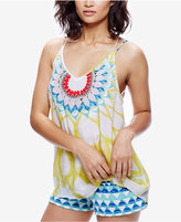 Free People Sophia Printed Tank Top and Shorts Set