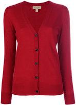 Burberry V-neck cardigan - women - Merino - M