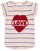 Simple Sale - Love Striped T-Shirt