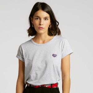 Maison Labiche Classic Te Kiffe Tee Shirt - cotton | XS (0) | grey - Grey/Grey