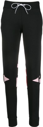 Philipp Plein Geometric track pants