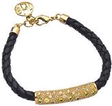 Uno6eight Gold CZ Ana Bracelet