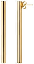 Jennifer Fisher Smooth Stick Earrings - Yellow Gold
