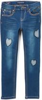Vigoss Blue My Heart Belongs Jeans - Girls
