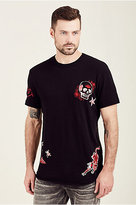 True Religion Elongated Curved Mens Tee