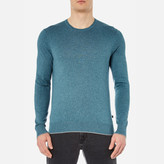 Michael Kors Men's Marl Crew Neck Jumper Kelp Marl