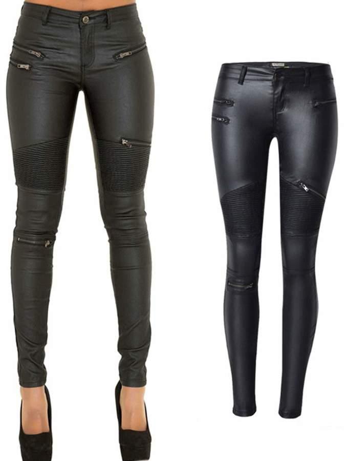 fdf5ab03bf1ea5 Pu Leather Trousers - ShopStyle Canada