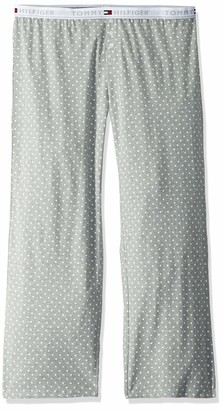 Tommy Hilfiger Women's Logo Bottom Lounge Plus Size Pajama Pant Pj