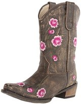 Roper Rosey Snip Toe Cowgirl Boot (Toddler/Little Kid)