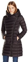 Soia & Kyo Women's Karelle-f6 Lightweight Down Coat with Assymmetrical Zip Closure