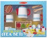 Melissa & Doug Steep & Serve Wooden Tea Set