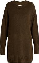 R 13 Oversized drop-shoulder sweater