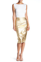 Ark & Co Metallic Midi Skirt
