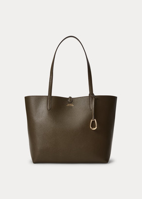 Ralph Lauren Faux-Leather Reversible Tote