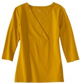 Merona Womens Double Layer V-Neck Cross Over Top - Assorted Colors