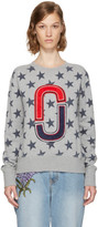 Marc Jacobs Grey 90s Star Sweatshirt