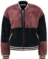Noisy May NMCHANGE SHORT Winter jacket twilight mauve/green gables