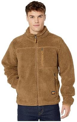 Timberland Frostwall Wind-Resistant Full Zip Jacket (Dark Wheat) Men's Clothing