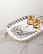 Godinger Monogram-Engraved Tray