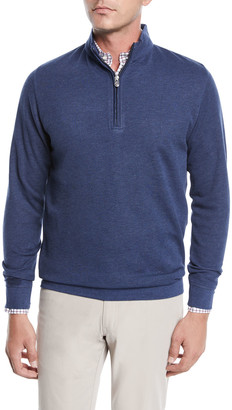 Peter Millar Men's Crown Comfort Half-Zip Sweater