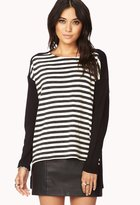 Forever 21 Contemporary Everyday Striped Sweater