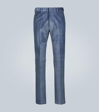 AMI Paris Slim-fit corduroy pants
