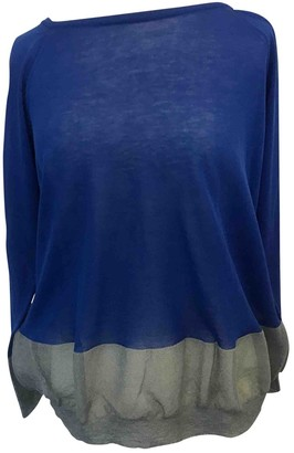 Cavallini Erika Blue Cotton Knitwear for Women