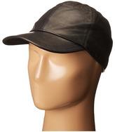 John Varvatos Leather BB Cap