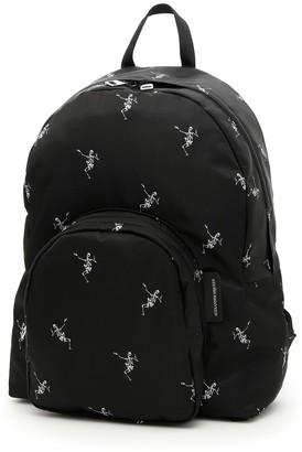 Alexander McQueen Skull Nylon Backpack