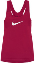 Nike Pro Cool Dri-fit Stretch-jersey Tank - Plum