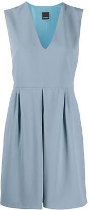 Pinko V-neck flared dress