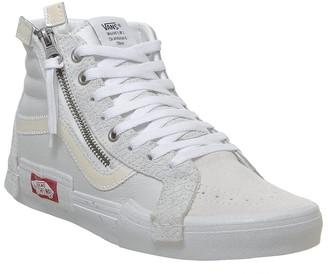 Vans Sk8 Hi Cap Trainers Blanc De Blanc True White