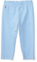 Ralph Lauren 2-6X Striped Jersey Capri Legging