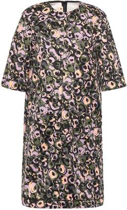 Marni Printed Cotton-poplin Dress