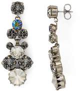 Sorrelli Swarovski Crystal Cluster Drop Earrings