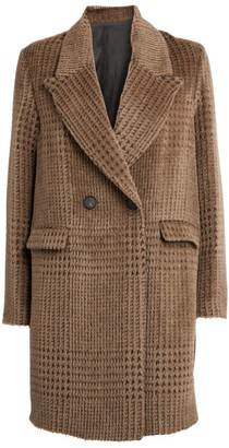 Fabiana Filippi Check Double-Breasted Coat