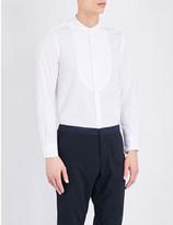 United Arrows Regular-fit bib-front cotton shirt