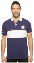 U.S. Polo Assn. Short Sleeve Color Blocked Classic Fit Polo Shirt